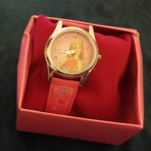 New in Gift Box Barbie Watch